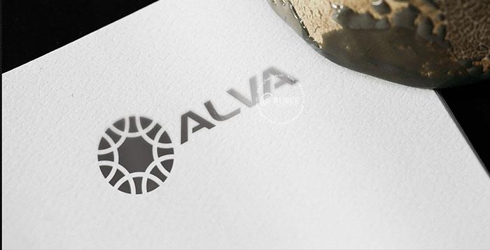 Thiết kế logo lĩnh vực spa Alva