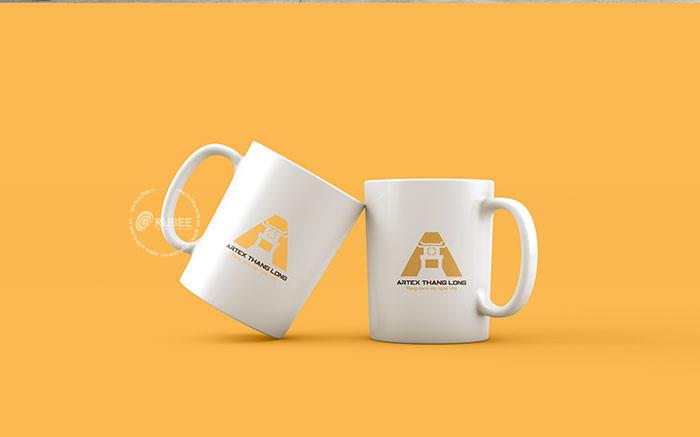 Phối cảnh thiết kế logo Artex Thăng Long