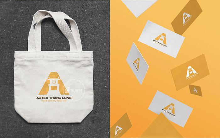Thiết kế logo lĩnh vực xuất nhập khẩu Artex Thăng Long
