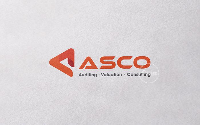 Thiết kế logo Asco