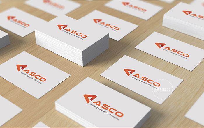 Thiết kế logo công ty Asco