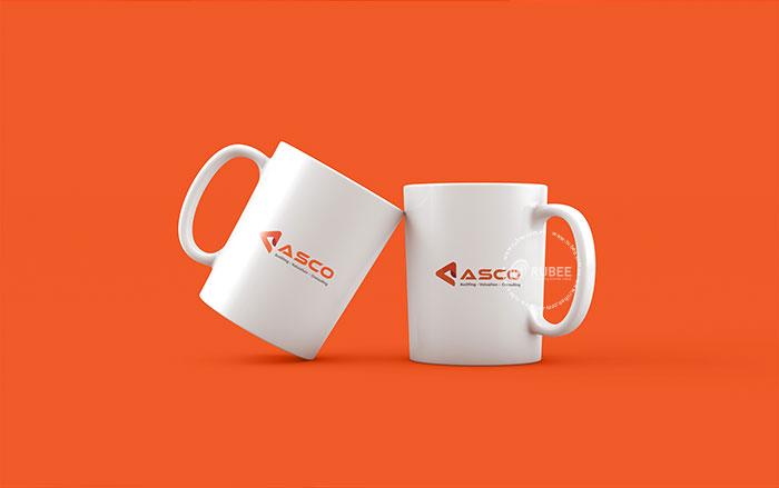 Thiết kế logo công ty kiểm toán Asco