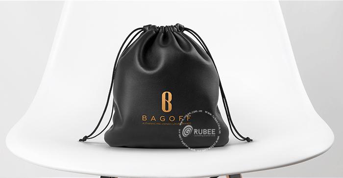 Thiết kế logo thời trang Bag off tại Rubee