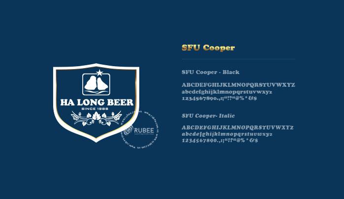 Thiết kế logo hãng bia Hạ Long