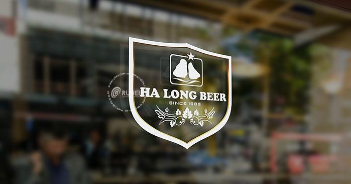 Thiết kế logo thương hiệu bia Hạ Long