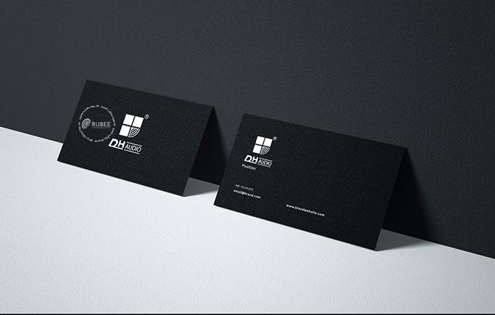 Thiết kế logo điện tử Dh audio