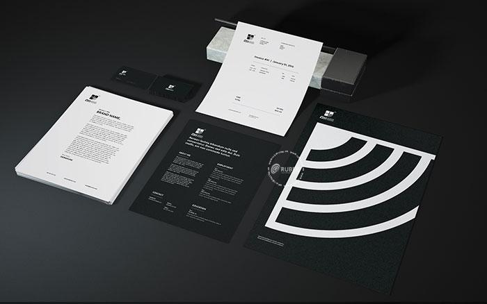 Thiết kế logo thiết bị điện tử Dh audio tại Rubee
