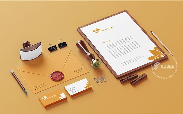 Thiết kế logo Diamond Skin tại Rubee