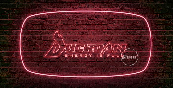 Phối cảnh thiết kế logo Đức Toàn