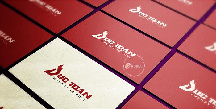 Thiết kế logo thương hiệu cơ điện Đức Toàn