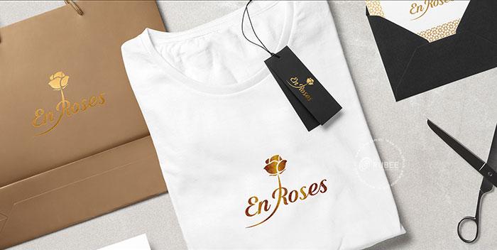Thiết kế logo spa Enroses tại Rubee