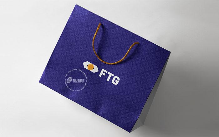 Phối cảnh thiết kế logo FTG