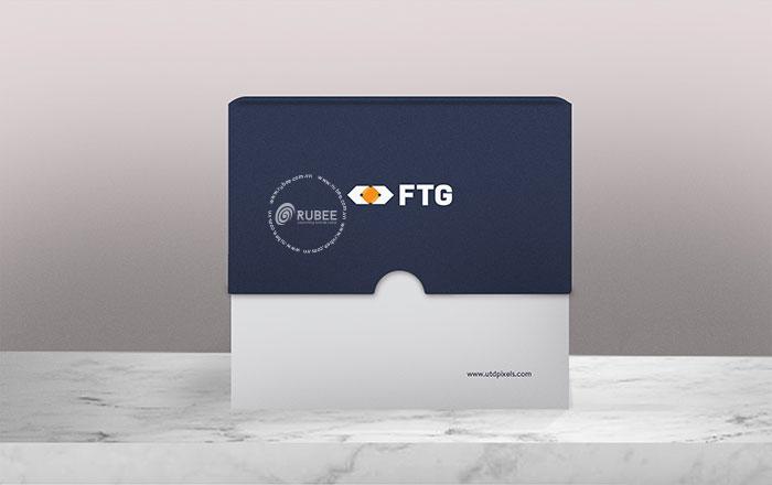 Thiết kế logo FTG tại Rubee