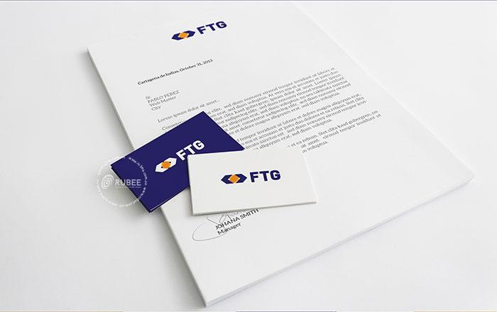 Thiết kế logo tài chính FTG