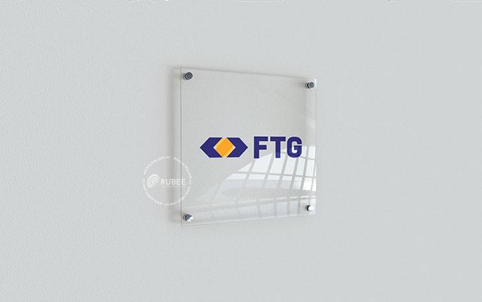 Thiết kế logo thương hiệu tài chính FTG