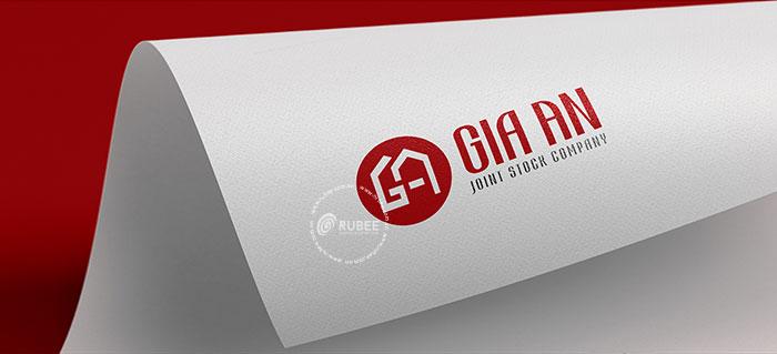 Thiết kế logo lĩnh vực nội thất Gia An