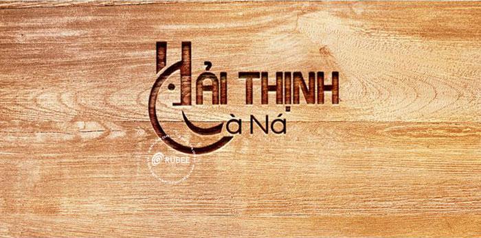 Thiết kế logo Hải Thịnh Cà Ná tại Rubee