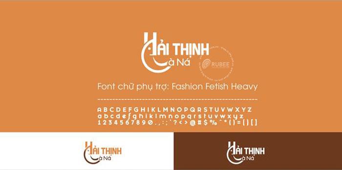 Thiết kế logo thương hiệu nước mắm Hải Thịnh Cà Ná