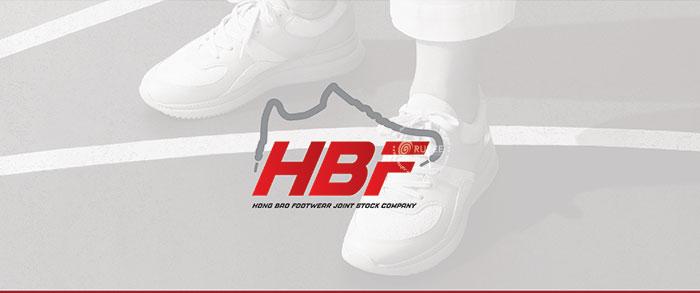Thiết kế logo giày HBF