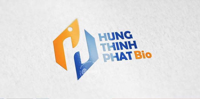 Thiết kế logo thuốc thủy sản Hưng Thịnh Phát Bio