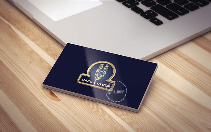 Thiết kế logo lĩnh vực kinh doanh cà phê I Cyber