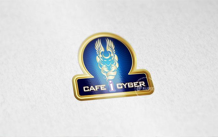 Thiết kế logo thương hiệu cà phê I Cyber