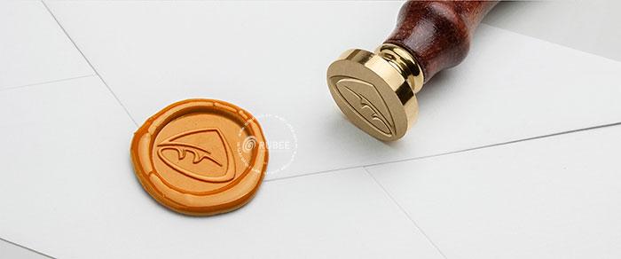 Phối cảnh thiết kế logo Ja Jon lên chất liệu