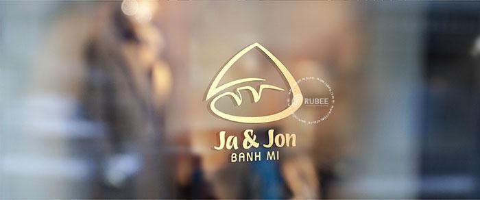 Thiết kế logo bánh mì Ja Jon tại Rubee
