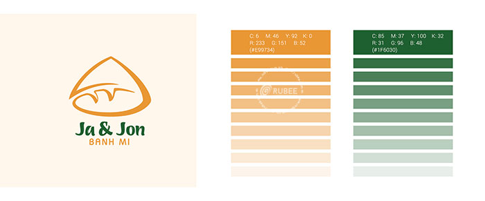 Thiết kế logo thương hiệu Ja Jon