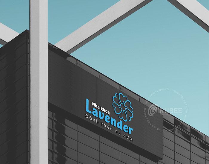 Thiết kế logo Lavender