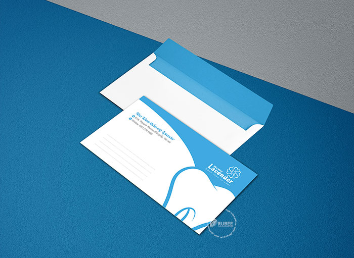 Thiết kế logo dịch vụ nha khoa Lavender