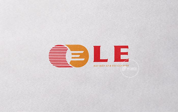 Thiết kế logo công ty LE