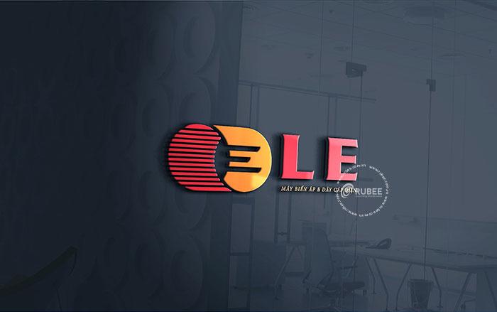 Thiết kế logo lĩnh vực thiết bị điện LE