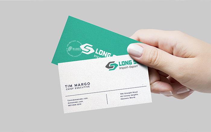 Thiết kế logo xuất nhập khẩu Long Sơn tại Rubee