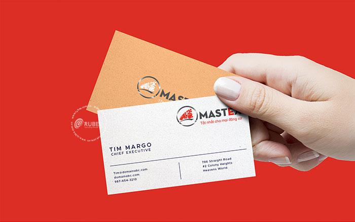 Thiết kế logo dầu nhớt Mastex