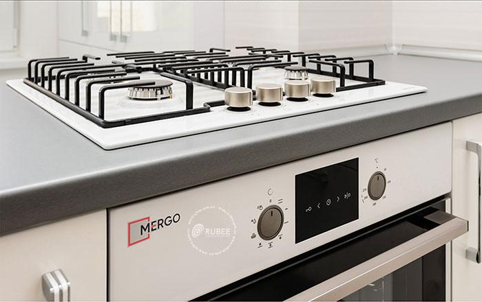 Thiết kế logo lĩnh vực bếp gia dụng Mergo