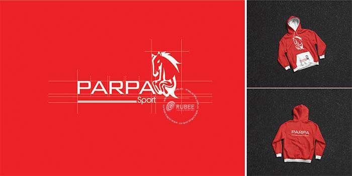 Thiết kế logo công ty thời trang thể thao Parpa