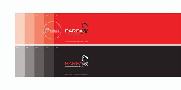 Thiết kế logo lĩnh vực thời trang thể thao Parpa