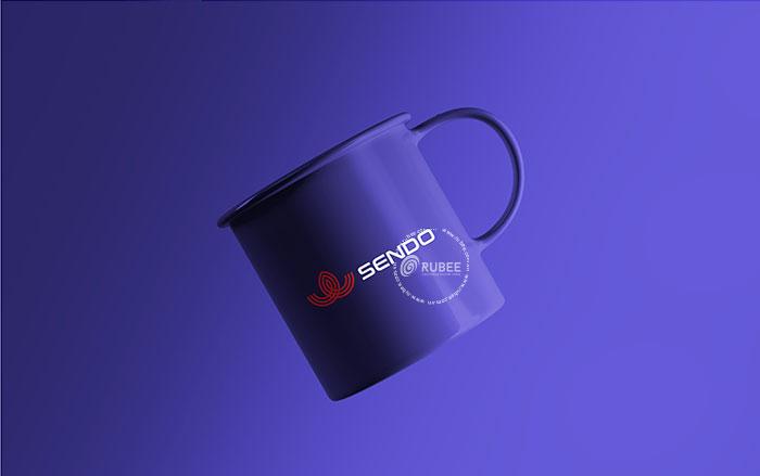 Phối cảnh thiết kế logo Sendo