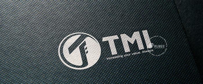 Phối cảnh thiết kế logo may TMI