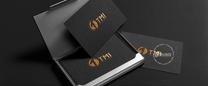 Thiết kế logo công ty may TMI tại Rubee