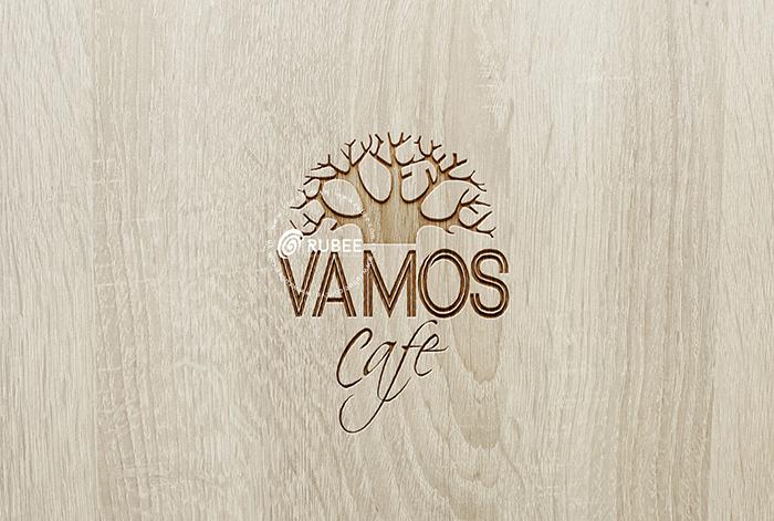 Thiết kế logo cà phê Vamos