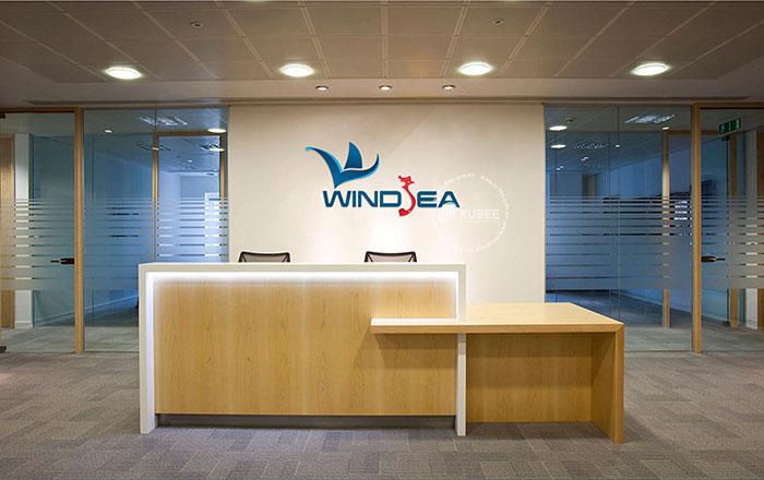 Thiết kế logo công ty du lịch Windsea