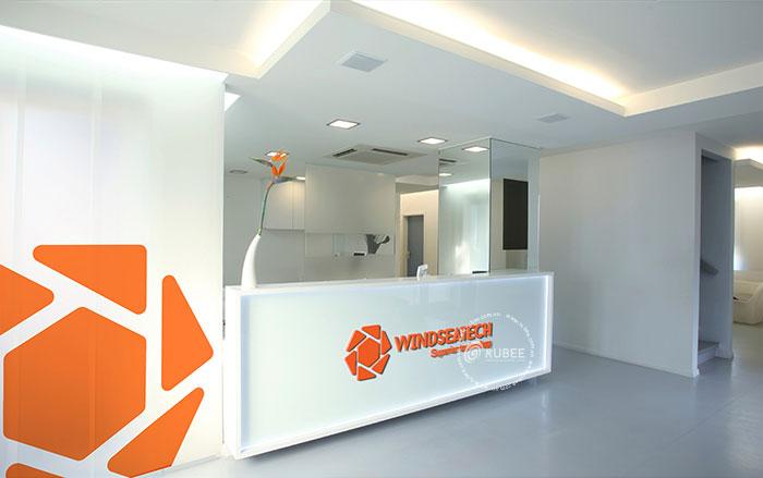 Thiết kế logo thiết bị xây dựng Winseatech tại Rubee