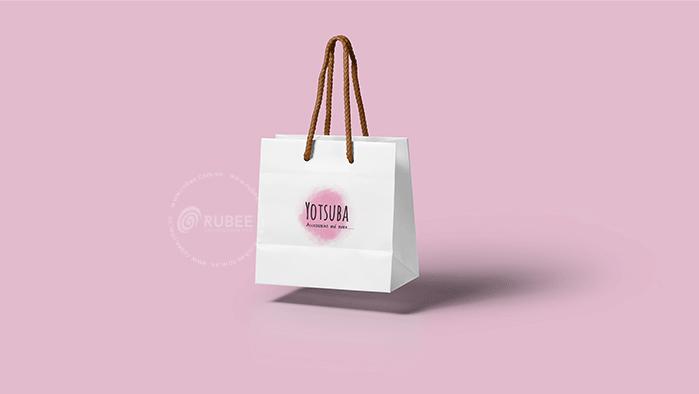 Thiết kế logo trang sức Yotsuba tại Rubee
